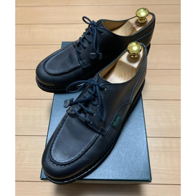 Paraboot(パラブーツ)の極美品 パラブーツ  レディース シャンボード  サイズ4 レディースの靴/シューズ(ローファー/革靴)の商品写真