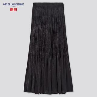 UNIQLO - UNIQLO イネス ツイストプリーツロングスカート