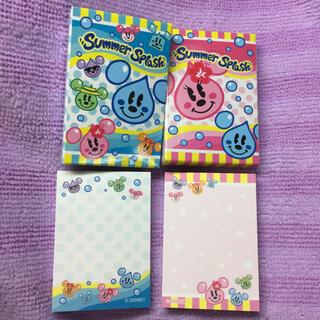 Disney - ディズニー メモ帳 ディズニーリゾート