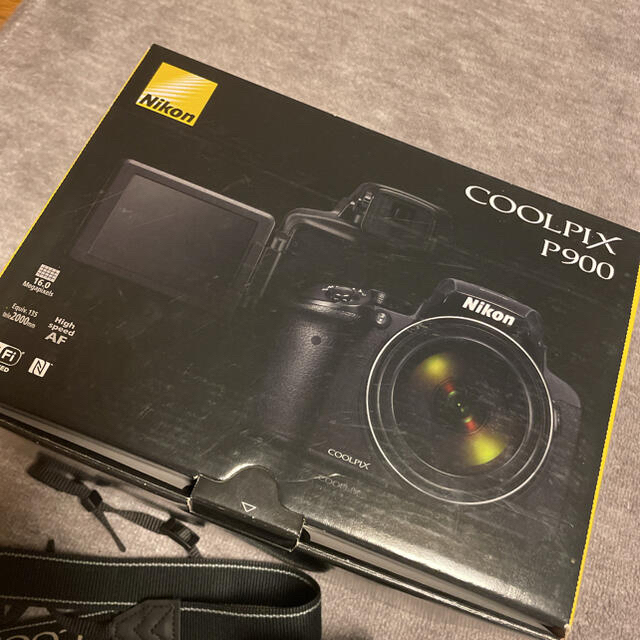 Nikon(ニコン)の美品Nikon COOLPIX Performance COOLPIX P900 スマホ/家電/カメラのカメラ(コンパクトデジタルカメラ)の商品写真