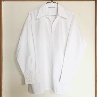 アクネ(ACNE)の【Acne Studios】Vネック オーバーサイズシャツ(シャツ/ブラウス(長袖/七分))