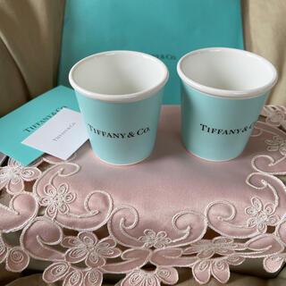 Tiffany & Co. - 購入証明書付きティファニーエスプレッソペーパーカップ2個