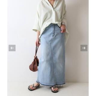 FRAMeWORK - FRAMeWORK ストレッチデニム切り替えタイトスカート