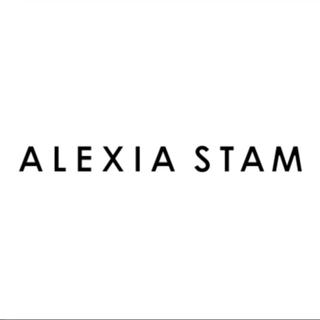 アリシアスタン(ALEXIA STAM)のalexiastam トレーナー グリーン(トレーナー/スウェット)
