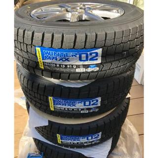 ダンロップ(DUNLOP)の早い者勝ち 新品未使用 セレナ スタッドレス ナットをサービス(タイヤ・ホイールセット)