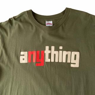 エニシング(aNYthing)のaNYthing エニシング Tシャツ(Tシャツ/カットソー(半袖/袖なし))