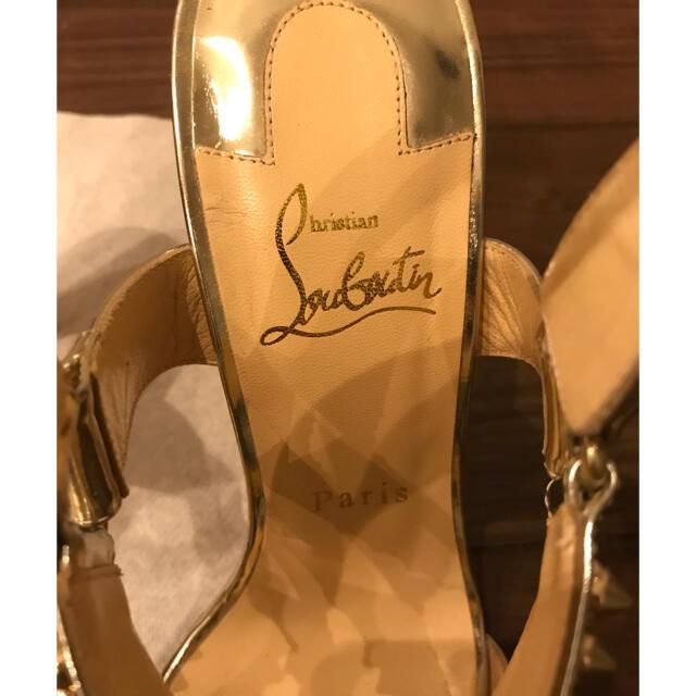 Christian Louboutin(クリスチャンルブタン)のクリスチャンルブタン christian Louboutin ブライダルサンダル レディースの靴/シューズ(サンダル)の商品写真