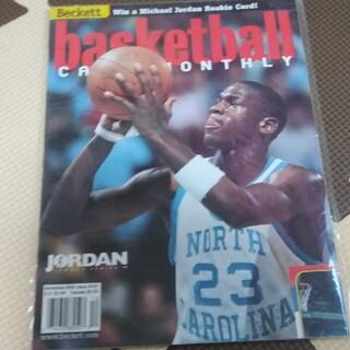 98年12月号ベケット誌 ジョーダン(ノースカロライナ時代)(バスケットボール)