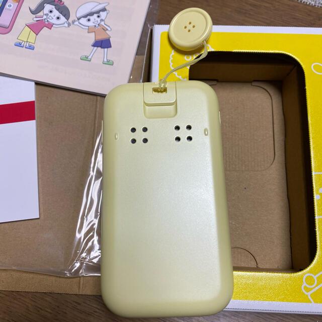 NTTdocomo(エヌティティドコモ)のドコモ キッズケータイ SH-03M スマホ/家電/カメラのスマートフォン/携帯電話(携帯電話本体)の商品写真