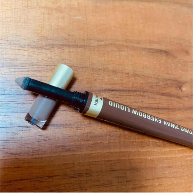 K-Palette(ケーパレット)のK-Palette K-パレット ラスティングツーウェイアイブロウリキッド 03 コスメ/美容のベースメイク/化粧品(パウダーアイブロウ)の商品写真