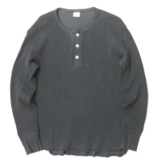 Ron Herman - Ron Herman Healthknit ヘビーサーマルヘンリーネックTシャツ