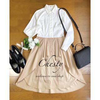Chesty - チェスティ ◆ バイカラーシャツワンピース ◆