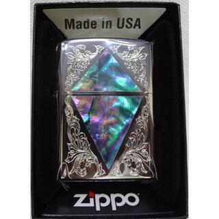 ジッポー(ZIPPO)の新品 ZIPPO シェルシリーズ紋章 2BKSHELL-ACD 定価10450円(タバコグッズ)