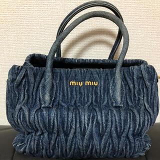 miumiu - ミュウミュウ  バッグ デニム