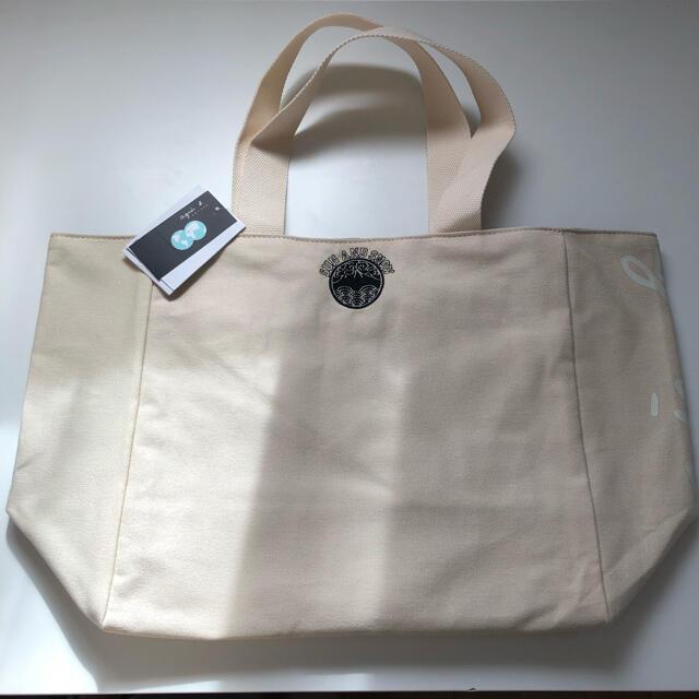 agnes b.(アニエスベー)の新品未使用! agnes b. アニエスベー リバーシブルトートバッグ 白黒 レディースのバッグ(トートバッグ)の商品写真