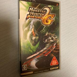 カプコン(CAPCOM)のモンスターハンターポータブル 2nd G PSP 空箱(携帯用ゲームソフト)