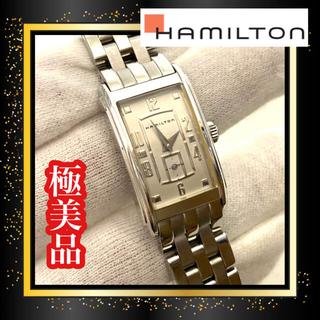 ハミルトン(Hamilton)の極美品❤ハミルトン アードモア 腕時計 シルバー レディース 電池交換済(腕時計)