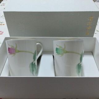 香蘭社 - 香蘭社 ペアマグカップ ブライトローズ