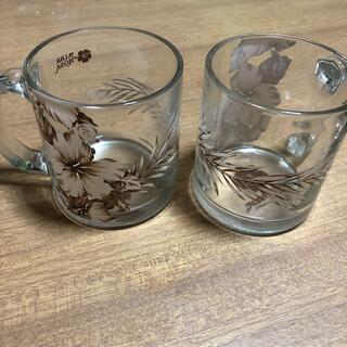アルバローザ 透明マグカップ