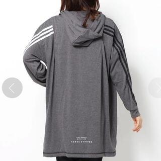 adidas - アディダス パーカー L レディース キッズ ジュニア 新品 ♡ ナイキ プーマ