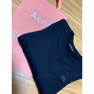 ACNE - レギュラーフィットスウェットシャツ ブラック