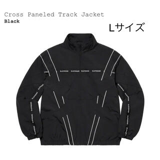 Supreme - supreme cross Paneled Track Jacket Lサイズ