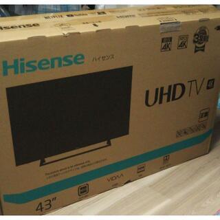 ハイセンス 43V型 4Kチューナー内蔵 液晶テレビ 43E6800 3年保証