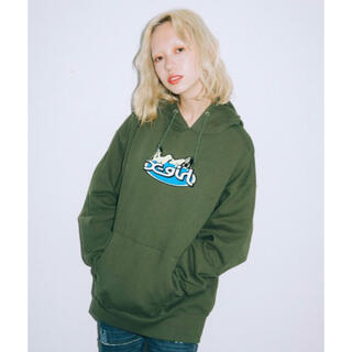 X-girl - X-girl × HYSTERIC GLAMOUR PATCH HOODIE