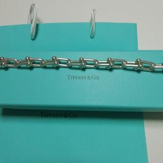 Tiffany & Co. - tiffany ハードウェア ラージブレスレット Lサイズ シルバー925