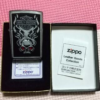 ジッポー(ZIPPO)のZippo  【 ハーレーダビットソン 】(タバコグッズ)
