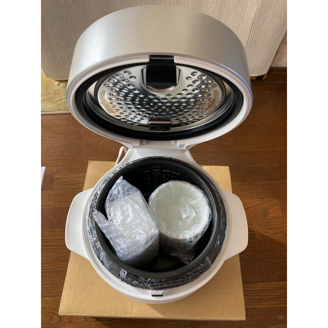 BALMUDA(バルミューダ)のBALMUDA The Gohan(炊飯器) スマホ/家電/カメラの調理家電(炊飯器)の商品写真