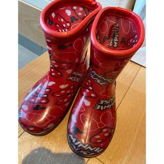 アカチャンホンポ(アカチャンホンポ)のミニー長靴 16.0(長靴/レインシューズ)