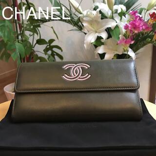 CHANEL - 正規品❤️CHANEL❤️23番台カーキー長財布
