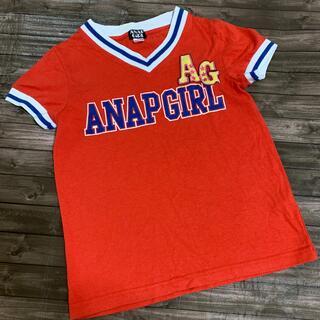 アナップ(ANAP)のANAPGIRL  Tシャツ XS(Tシャツ/カットソー)