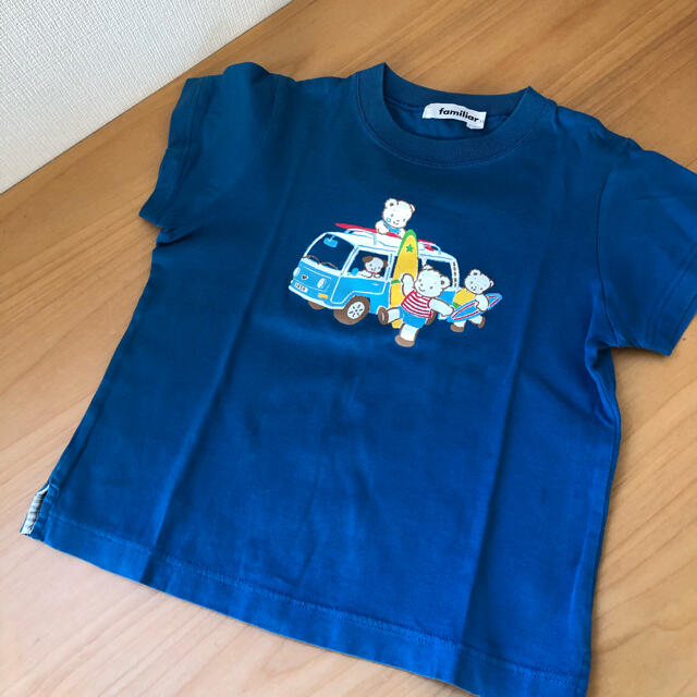 familiar(ファミリア)の美品⭐︎ファミリア tシャツ  110 キッズ/ベビー/マタニティのキッズ服男の子用(90cm~)(Tシャツ/カットソー)の商品写真