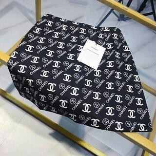 シャネル(CHANEL)のフルプリントスカート(ミニスカート)
