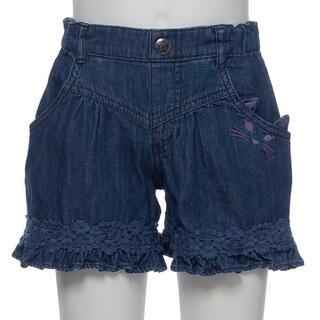 アナスイミニ(ANNA SUI mini)の新品 アナスイミニ デニムネコポケットショートパンツ(パンツ/スパッツ)