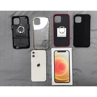 iPhone - 美品 iPhone 12 mini ホワイト 128GB  SIMフリー