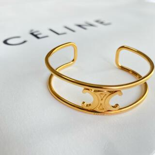 celine - ラスト1【新品】CELINE マイヨン トリオンフ ブレスレット ゴールド