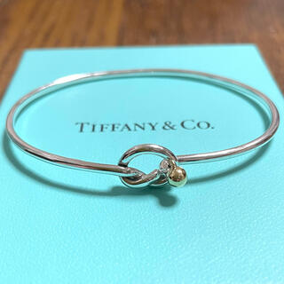 Tiffany & Co. - ティファニー ラブノット バングル スターリングシルバー925 750