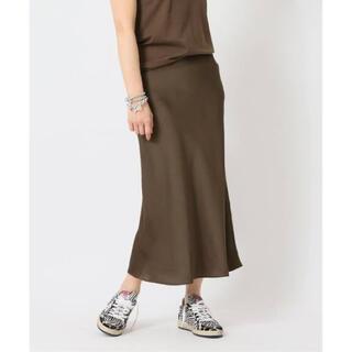 DEUXIEME CLASSE - 【新品未使用/完売品】Deuxieme Vintage Satin スカート