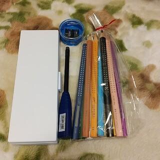 ファーバーカステル(FABER-CASTELL)のファーバーカステル 色鉛筆 水彩色鉛筆 鉛筆 鉛筆削り まとめ売り(色鉛筆)