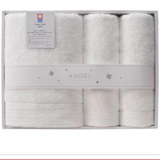 今治タオル - 今治タオル エンジェル 天使の紡ぎ糸 バスタオル・フェイスタオル2枚セット