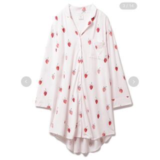 gelato pique - 【新品タグ付き】gelato pique ストロベリーモチーフシャツドレス
