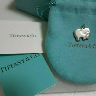 Tiffany & Co. - ティファニー エレファント チャーム 象 シルバー 925