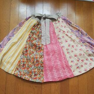 チチカカ(titicaca)のTITICACAスカート(ひざ丈スカート)