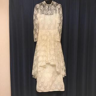 グリモワール(Grimoire)の【美品】wedding dress vintage ヴィンテージドレス(ウェディングドレス)