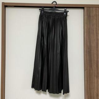 アンティックラグ(antic rag)のレザースカート(ロングスカート)