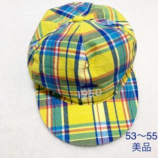 familiar - 【美品】familiar キャップ 帽子 53〜55㎝ ファミリア
