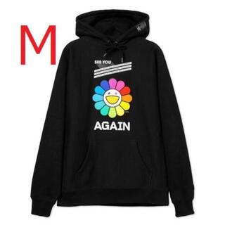 村上隆×ゆず Rainbow Flower Hoodie M RESTIR限定(パーカー)